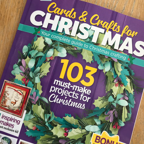uniko studio featured in cards crafts for christmas