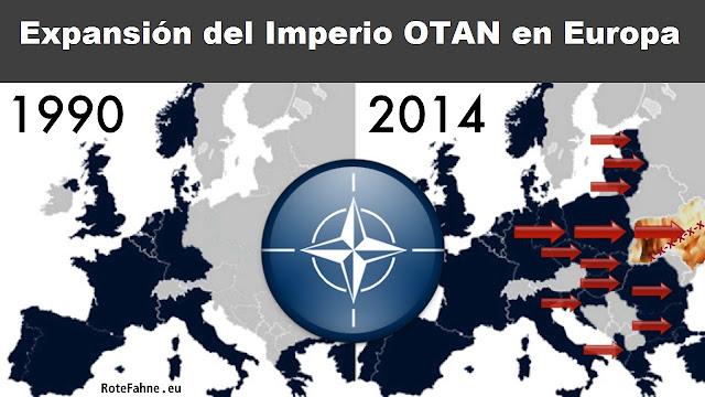 Ucrania, la amenaza rusa y la expansión de la OTAN - un breve comentario de William Blum - publicado por el blog del viejo topo en febrero de 2017 Expansion-OTAN-%2BNATO-2014