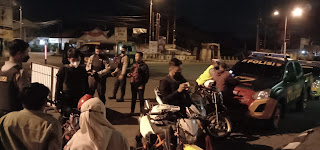 Sat Samapta Bersama Tim Alap-Alap Polres Jember Gelar Patroli Ke  Tempat Berpotensi Aksi Balap Liar
