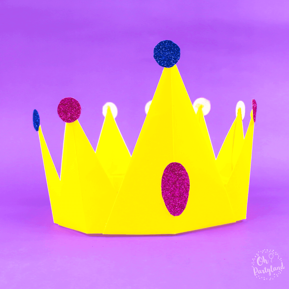 Princess Paper Crown