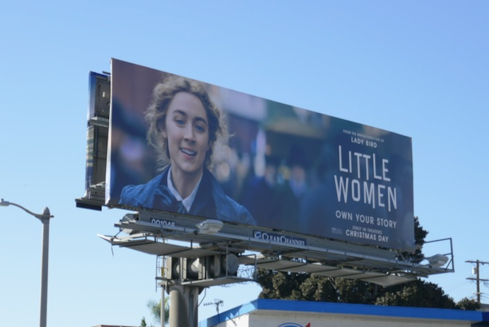 Saoirse Ronan Little Women billboard