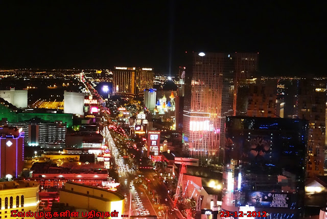 Las Vegas Strip Night View