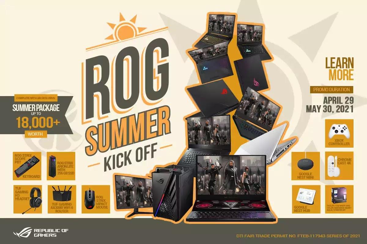 Summer Kick-Off Promo - ROG AND TUF GAMING SERIES