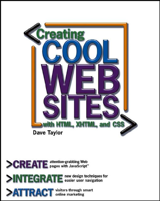 Creating Cool Web Sites With HTML, XHTML, And CSS  Download eBook