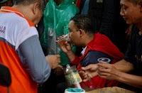 Begini Kondisi Anies Saat Tangani Banjir Jakarta