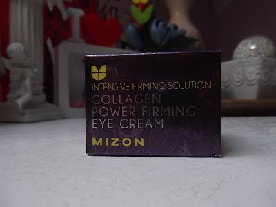 Mizon Intensive Firming Solution Collagen Power spevňujúci očný krém proti vráskam, opuchom a tmavým kruhom