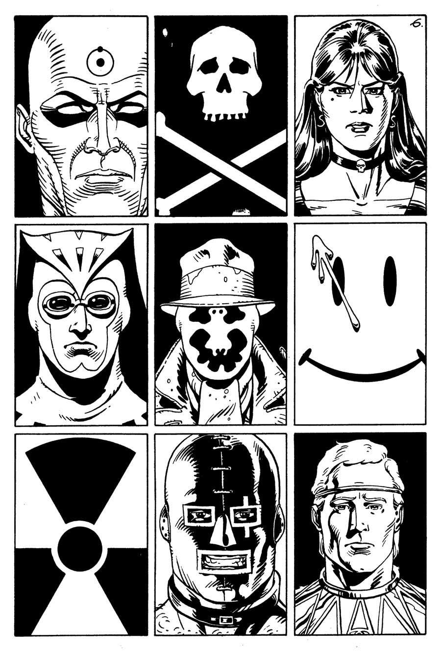 the contrast between the ozymandias and rorschachs in the watchmen by alan moore Saturday morning watchmen is a newgrounds  the video parodies the dc comics limited series watchmen by alan moore and  and features rorschach, ozymandias, .