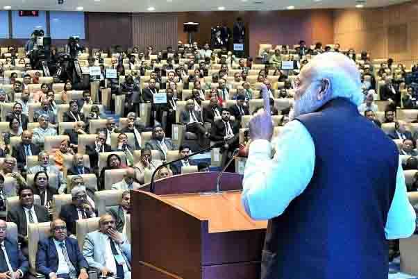 आईजेसी का पीएम मोदी ने किया उद्घाटन, कहा- न्यायपालिका पर हर भारतीय की आस्था