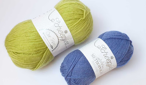Scheepjes yarn. Metropolis and Our Tribe