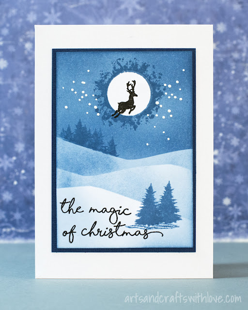 Cardmaking: Easy to make Christmas card