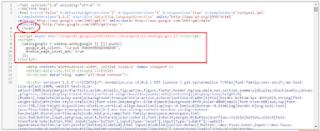 Masukkan Kode di Adsense
