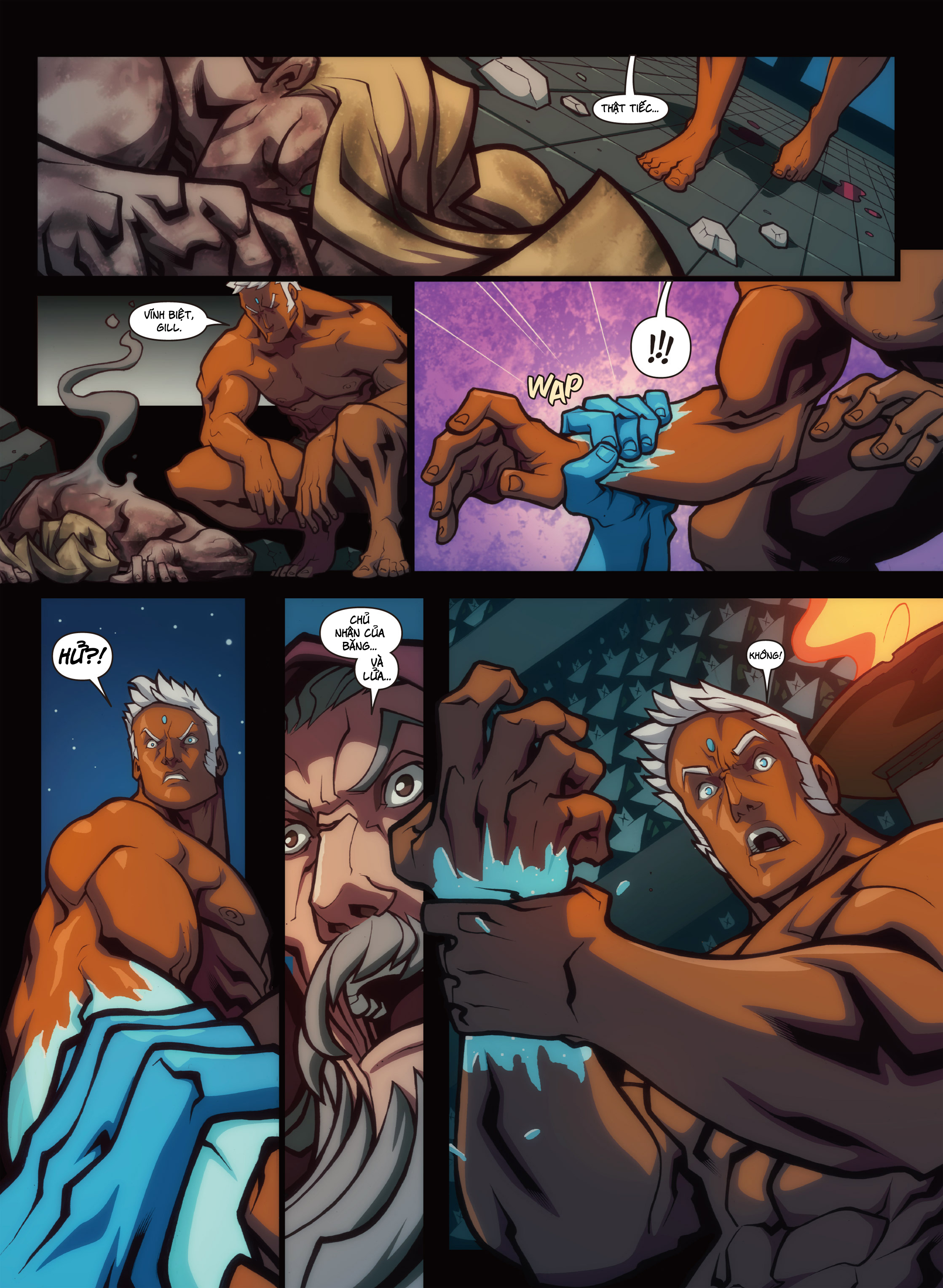 Street Fighter Unlimited Chap 0.1 - Next Chap 1