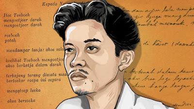 Kumpulan 27+ Contoh Teks Puisi Karya Chairil Anwar dan dkk | Bahasa Indonesia Kelas 8 (Revisi)