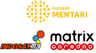 Kumpulan ID Outlet Indosat Ooredoo (IM3, Mentari dan Matrix)