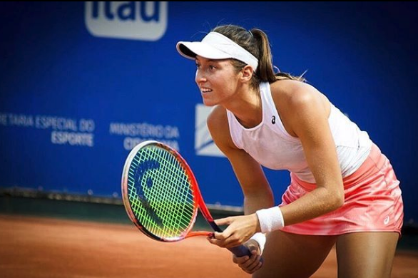 Luisa stefani roma foto de arquivo tenis brasil