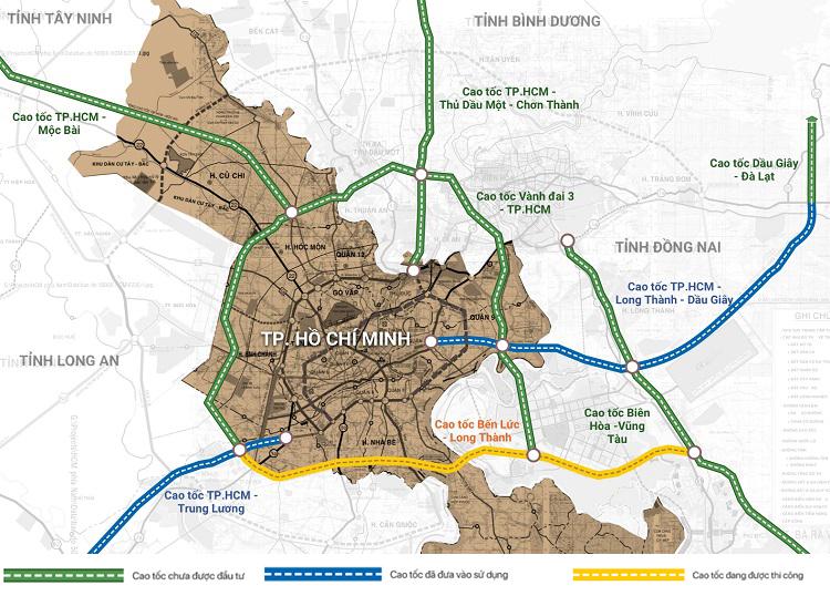 8 Tuyến Đường Cao Tốc Kết Nối Sài Gòn Và Các Tỉnh 2