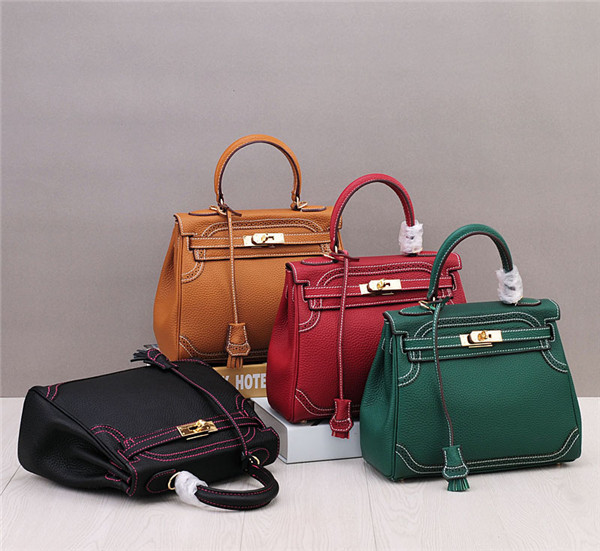 New Italian Brand Female Handbag Designer High Quality Leather Business Bag