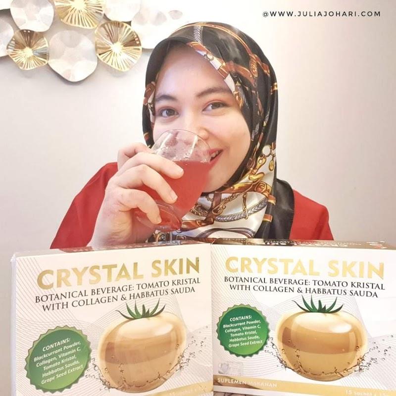 Crystal Skin produk Rish Beauty pertama di Malaysia guna tomato kristal, habbatus sauda dan kolagen untuk kecantikan kulit