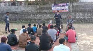 जय जवान वेलफेयर सोसाइटी छिंदवाड़ा के द्वारा चौरई में शुभारंभ किया गया