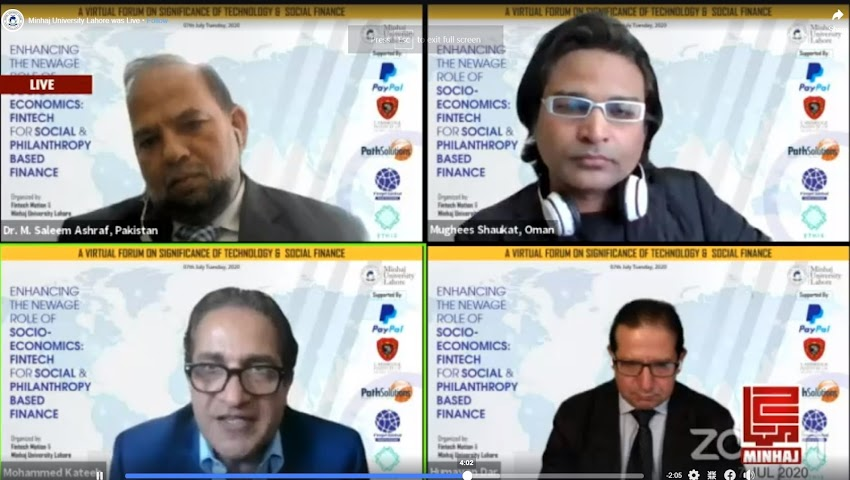 A VIRTUAL FORUM ON SIGNIFICANCE OF TECHNOLOGY & SOCIAL FINANCE  Session 01