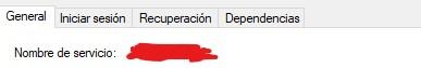 Como encontrar el nombre de un servicio en Windows