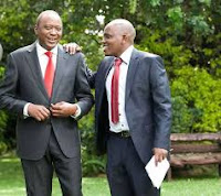 itumbi%2Buhuru - DENNIS ITUMBI may be hanged in Kamiti for plotting the death of DP RUTO! See what he will be charged with?