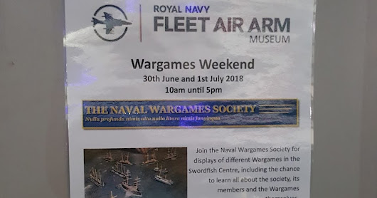 Naval Wargames Weekend, 2018