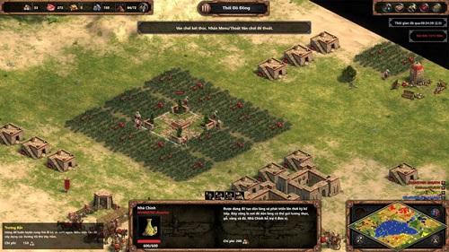 Khối hệ thống map của Age of Empires khá đa dạng