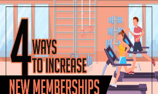 4 Ways to Increase New Memberships #infographic