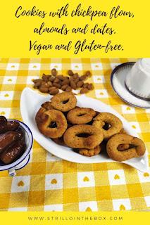 biscotti farina di ceci mandorle glutenfree