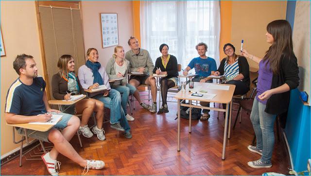 Estudar espanhol na Ecela Spanish em Viña del Mar no Chile