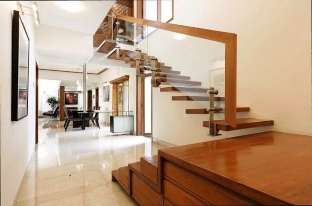 Elegant stylish staircase