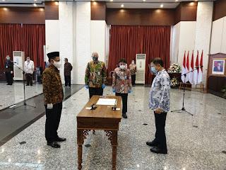Empat Pesan Menteri Perencanaan Pembangunan Nasional Untuk Kepala Badan Informasi Geospasial (BIG) yang Baru
