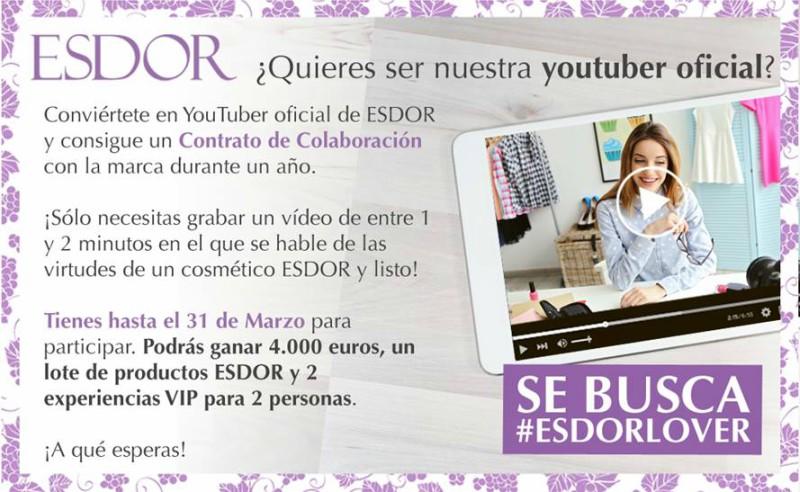 buscan el YouTuber oficial de Esdor