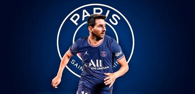 Imágenes de Lionel Messi como jugador del PSG