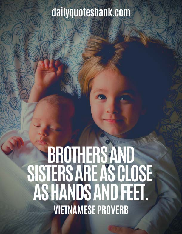 Lovely Brother Quotes - Heart Touching Lines For Brother and Sister Relationship