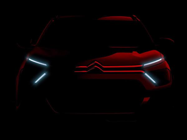 Novo Citroën C3 2022: primeira foto oficial revelada