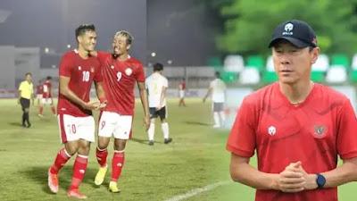 Sukses Petik Kemenangan, Shin Tae-yong: Para Pemain Harus Menjaga Fisiknya