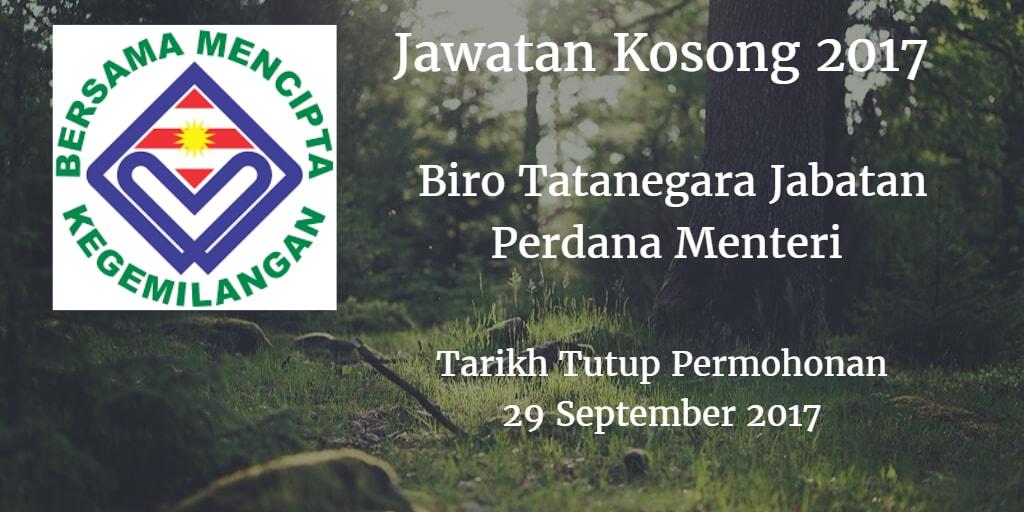 Jawatan Kosong BTN 29 September 2017