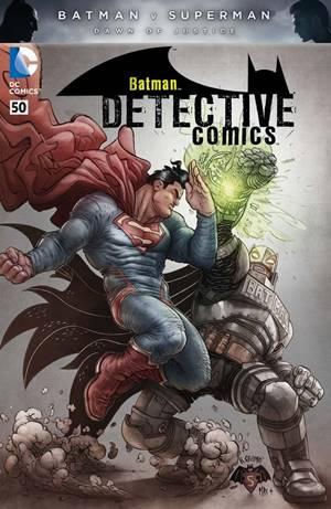 El enfrentamiento entre Batman y Superman en portada