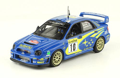 collezione rally monte carlo Subaru Impreza S7 WRC 01 2002 Tommi Mäkinen - Kaj Lindström