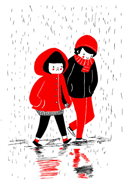 Dibujo de pareja