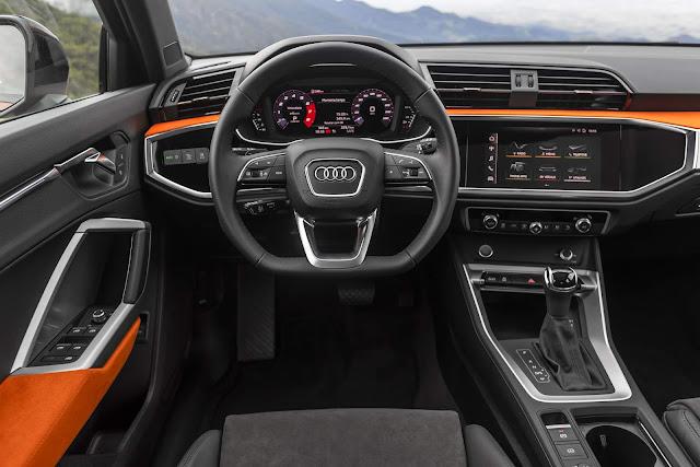 Novo Audi Q3 2020 (Brasil) - interior - painel