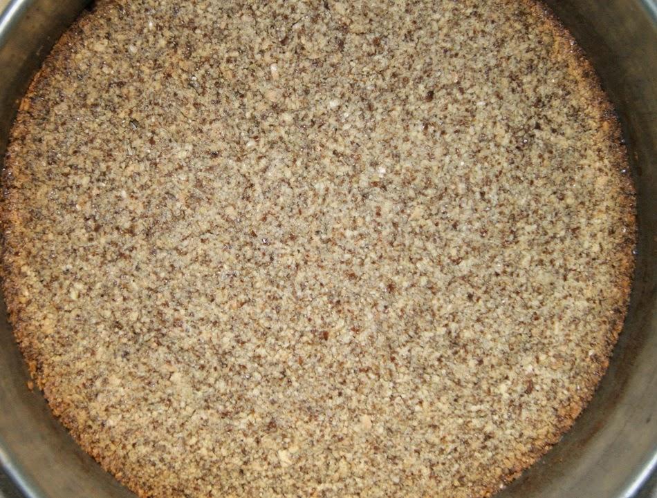 Sernik czekoladowy z mascarpone na spodzie bez zbóż