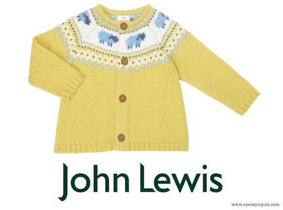 Princess Charlotte wore John Lewis Fair Isle Pattern Jumper