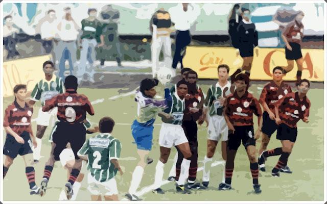 Vitória Palmeiras 1993