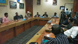 <b>Datangi Komisi III DPRD NTB, Sejumlah Kades Moyo Hilir dan Moyo Utara Minta Perhatian Anggaran Provinsi</b>
