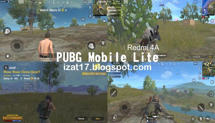 PUBG Mobile Lite Test Redmi 4A