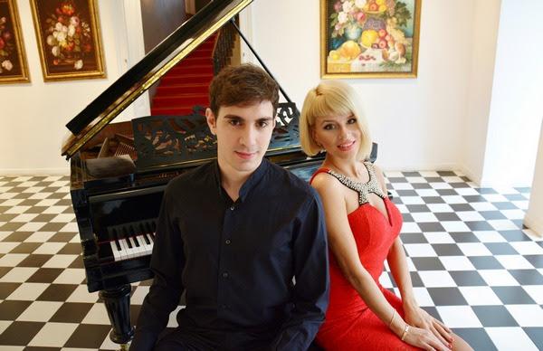 Klavirski duo Ksenija Djačenko i Antonio Morant