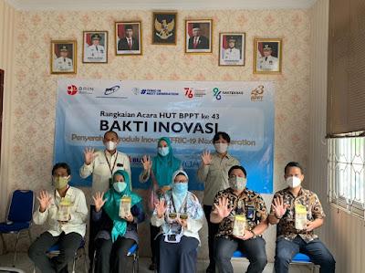 Bulog Lampung dan BPPT Kembangkan Fortifikan Lokal untuk Beras Fortivit